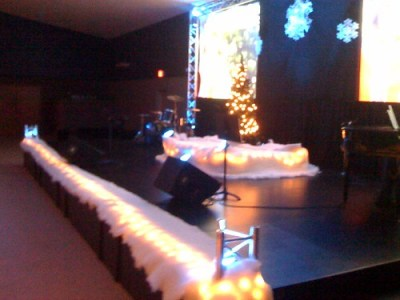 Christmas Series Stage Design