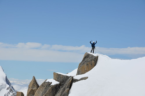 I made it on the summit!!!!!!!!!