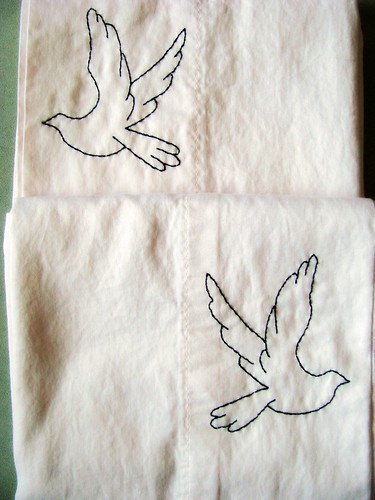 Dove Pillowcases