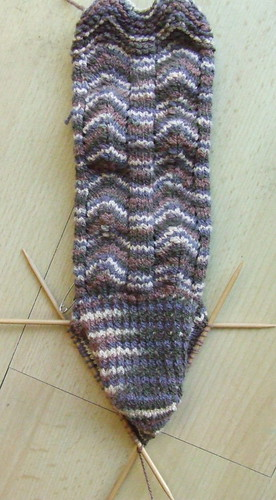More Sock Knitting...