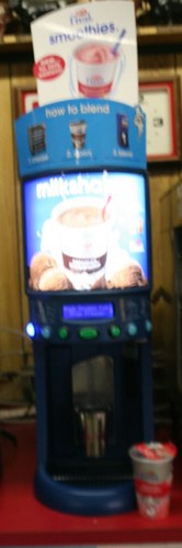 The F'real milkshake machine.