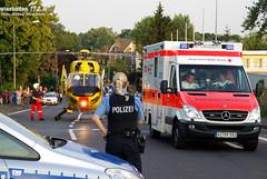 RTH-Einsatz nach Verpuffung Gräselberg 30.06.09