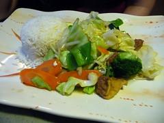 stir fry vegetables with tofu