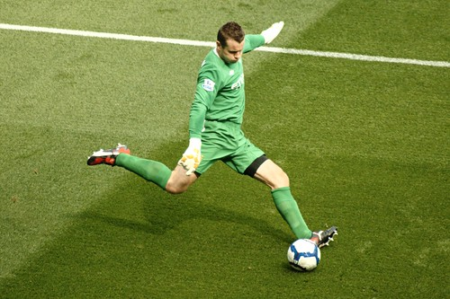 Shay Given has put FIFA on the hot seat for their World Cup Qualifying system. The Republic of Ireland has every right to his opinion, not only is he right but he is bringing up and important issue that needs to be changed. (Courtesy Flickr mikebrown59)