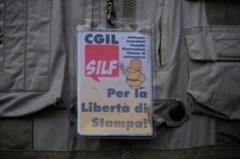 SILF al presidio - photo Goria