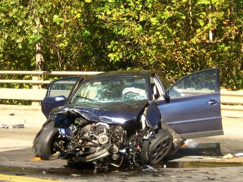 coche colisionado