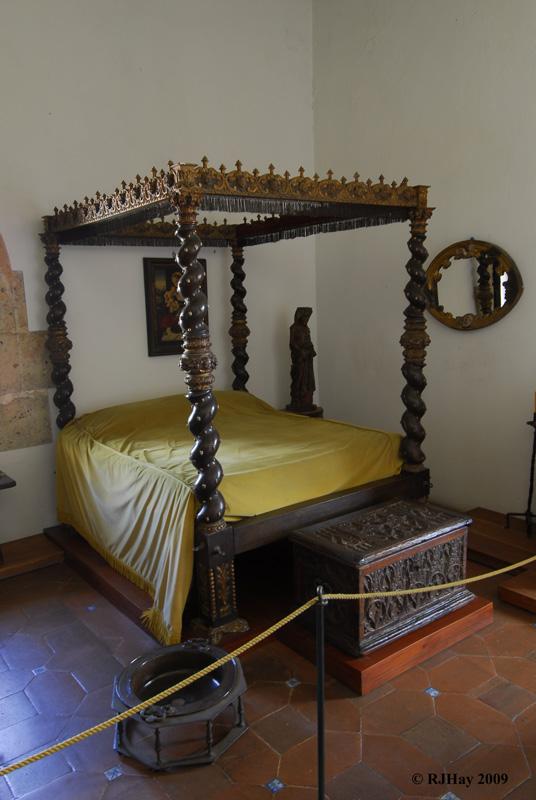 Diego's wife's bedroom -  Alcazar de Colon (Palacio de Diego Colon), Santo Domingo, Dominican Republic