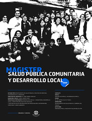 Cartel Magister Salud Publica UFRO 2009