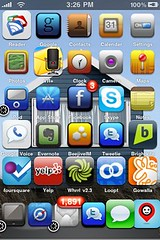 iPhone home screen updated: new theme & added ...