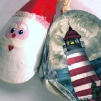 Buying or Making Seashell Christmas Ornaments