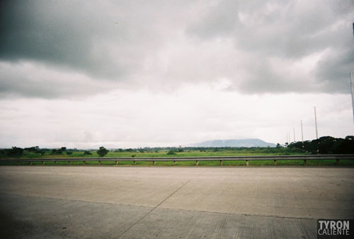 Mount Makiling, at the Asia Brewery exit