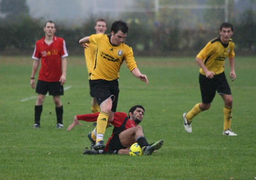 Football 2nds v Bradford, 21/10/2009, Photo: Justyn Hardcastle