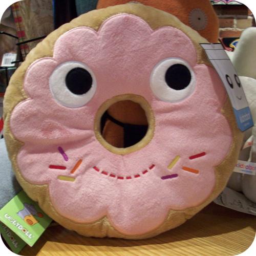 donut heidi kenney plush