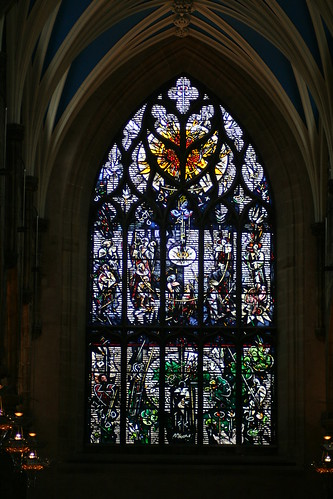 St Giles' Cathedral (stained glass), Edinburgh