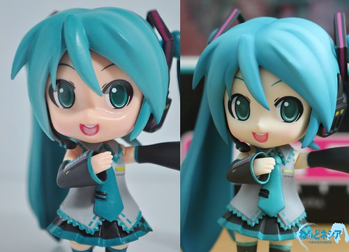 Bootleg Nendoroid Hatsune Miku vs the genuine one