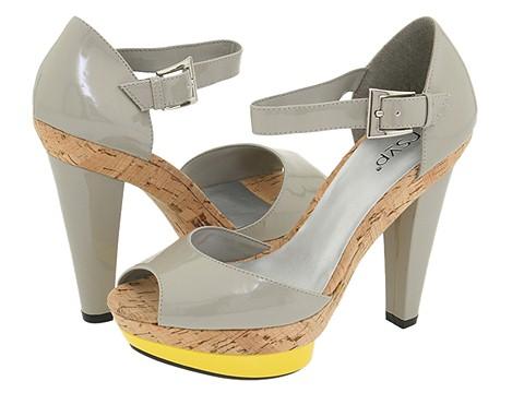 RSVP gray heels - too stripper?