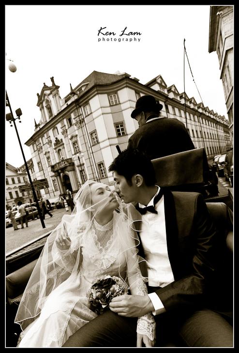 Zeta & Bryan - Pre-wedding in Prague
