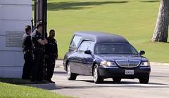 Michael Jackson's Memorial Service at Staples ...
