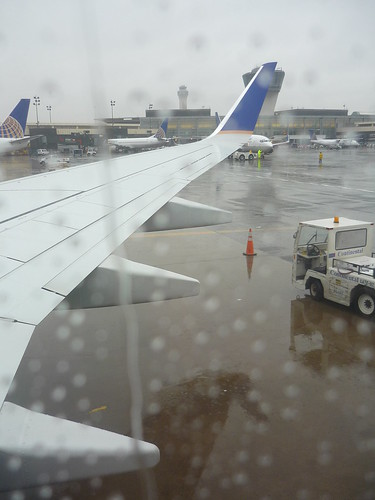 Rain in Newark