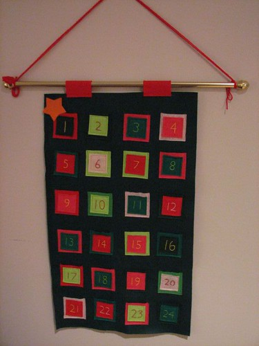 Hanging Advent Calendar