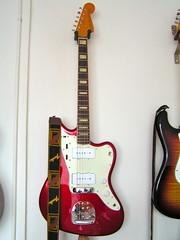 Fender Jazzmaster with bridge cover