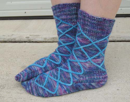 windowpane socks FO