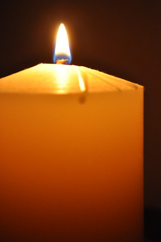 Remembrance candle