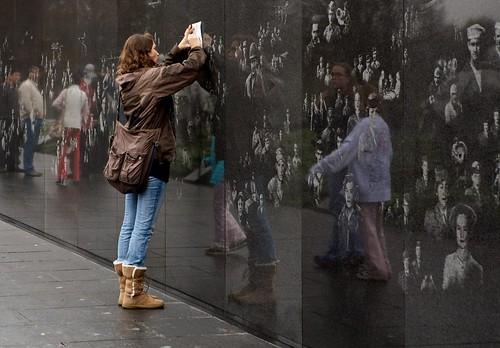 Korean War Veterans Memorial wall