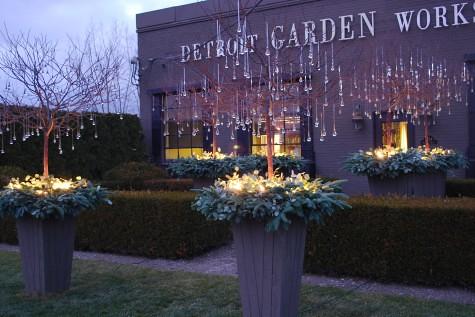 detroit garden works dusk