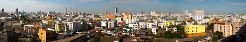 Bangkok Morning from the Apartment