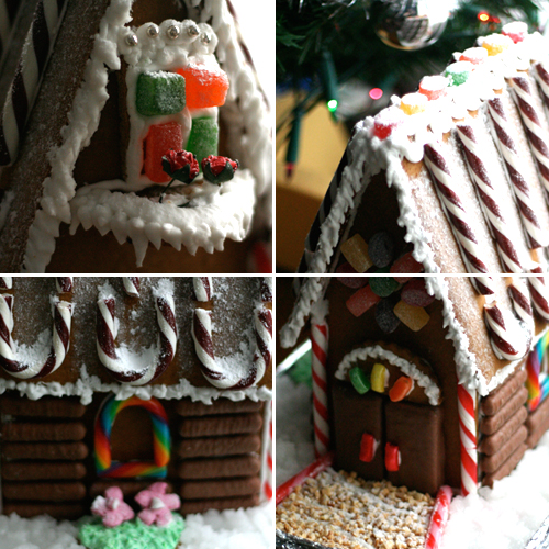 daring bakers gingerbread house