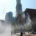 Greenway fountain + Custom House