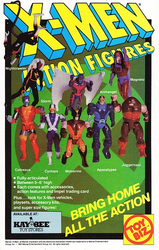 Toy Biz X-Men action figures