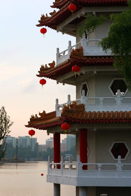 an afternoon at the Chinese Garden