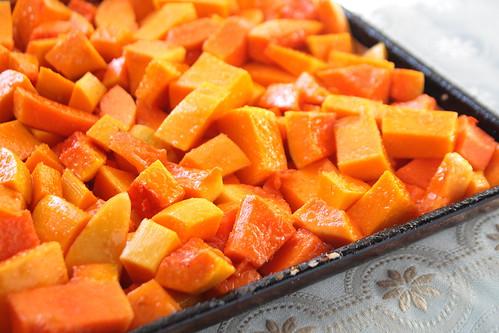 Roasting Pumpkin