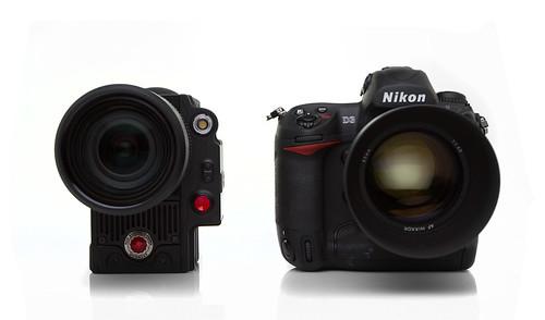 Scarlet 8X vs. Nikon D3
