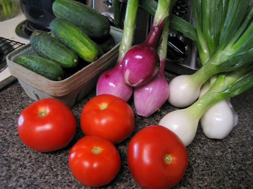 farmer's market haul, july 18