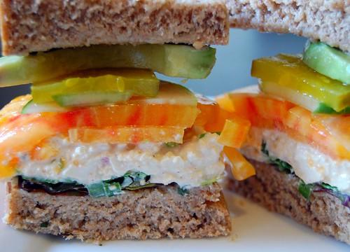 Eggless Tofu Salad