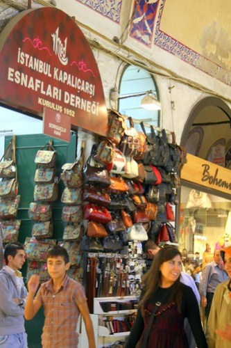 10-01-09 A day at the Grand Bazaar and Spice market in Istanbul