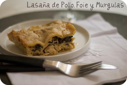 Lasaña Pollo, <span class=
