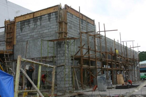 Chowking Highway GenSan Branch undergoing construction!