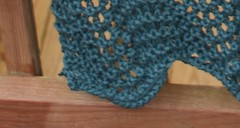 Crab stitch border