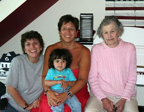 Emily, Clara, Ann and Susan