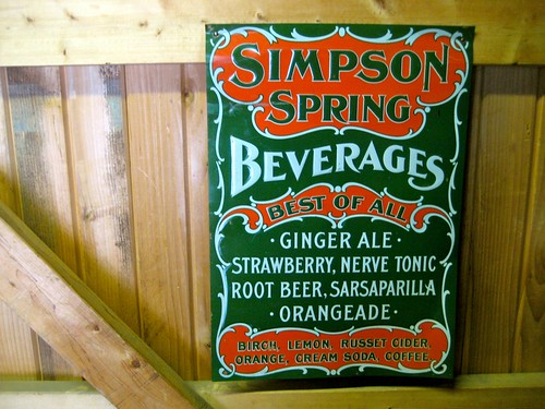 Simpson Spring Sign