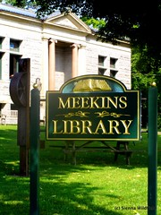 Meekins Library on Route 9 in Williamsburg
