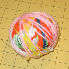 Odds & Ends Yarn Ball