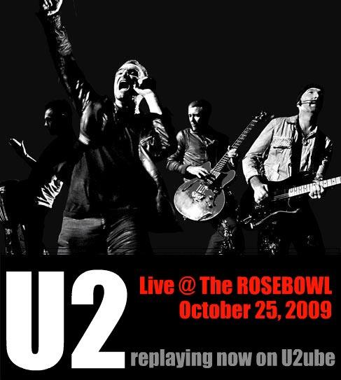 u2 @ the rosebowl