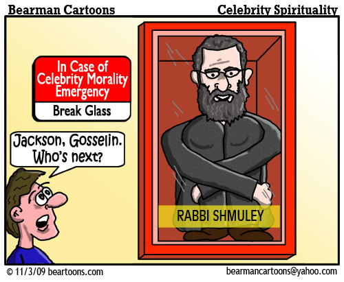 11 3 09 Bearman Cartoon Shmuley Boteach