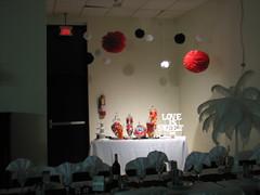 Wedding Reception Candy Buffet