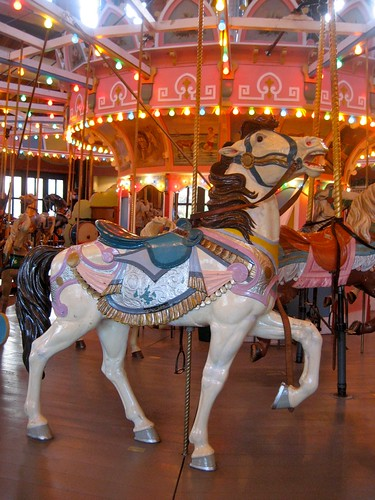 Holyoke Merry Go Round Horse